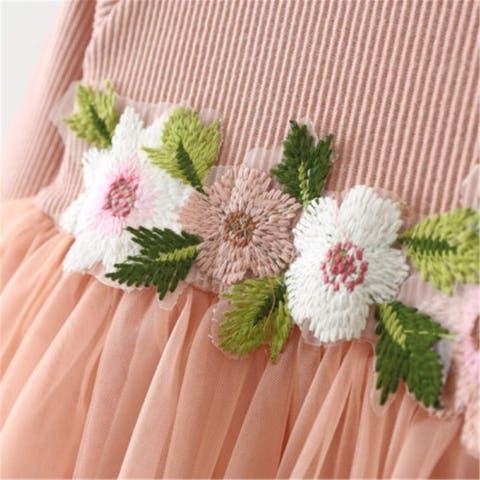 Mornbaby Toddler Kids Baby Girls Knitted Tulle Cap Tutu Dresses Jersey Dress ... - 18-24 Months