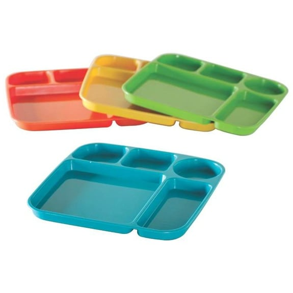 Nordic Ware 60155 Party Trays, Set of 4, Assorted Color