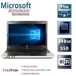 "Refurbished HP EliteBook 8760W 17.3"" Intel Core i5-2520M 2.50GHz 8GB DDR3 240GB SSD DVD Windows 10 Pro 64 Bits 1 Year Warranty"