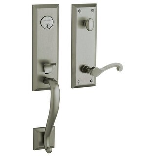 Baldwin 85355.RFD Right Handed Stonegate Dummy Set Handleset with Classic Interior Lever