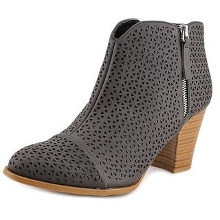 Fergalicious Caroline   Round Toe Synthetic  Ankle Boot