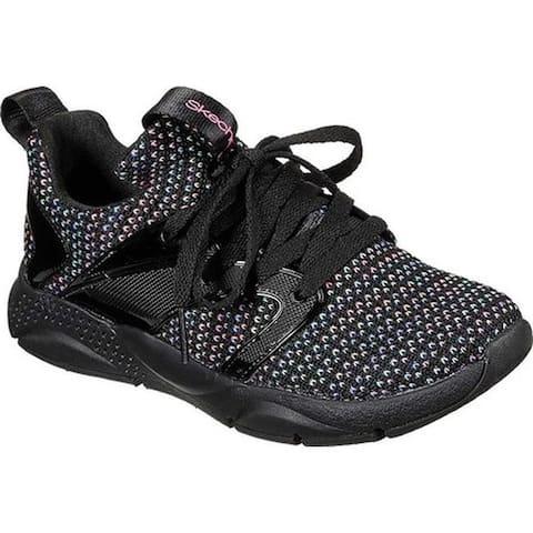 Skechers Girls' Shine Status Sophisticated Sneaker Black/Multi