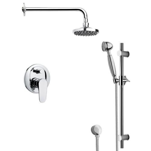 Nameeks SFR7532 Remer Shower System With Multi Function Rain Shower Head,  Hand Shower, Slide