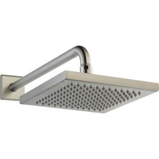 S Shaped Shower Arm Brushed Nickel
