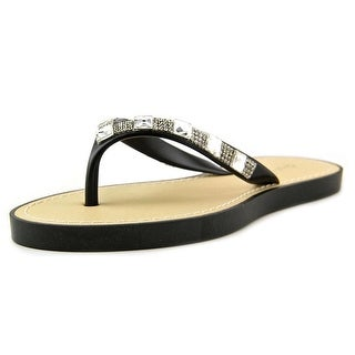 Qupid Jammy 08 Open Toe Synthetic Thong Sandal