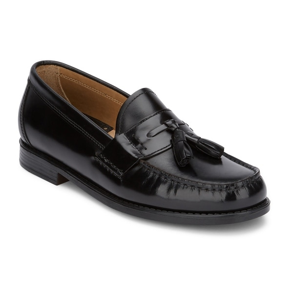 G.H. Bass & Co. Mens Wallace Leather Tassel Loafer Shoe