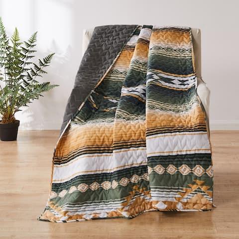 Greenland Home Fashions Zuma Throw Blanket