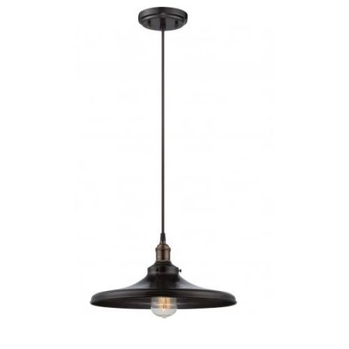 "Nuvo Lighting 60/5506 Single Light 14"" Wide Pendant"