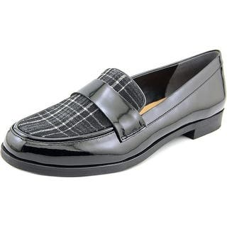 Franco Sarto Valera Round Toe Synthetic Loafer|https://ak1.ostkcdn.com/images/products/is/images/direct/6aa2706ae380d09eaaab2ae0048be2163bb72d9a/Franco-Sarto-Valera-Women-Round-Toe-Synthetic-Black-Loafer.jpg?impolicy=medium