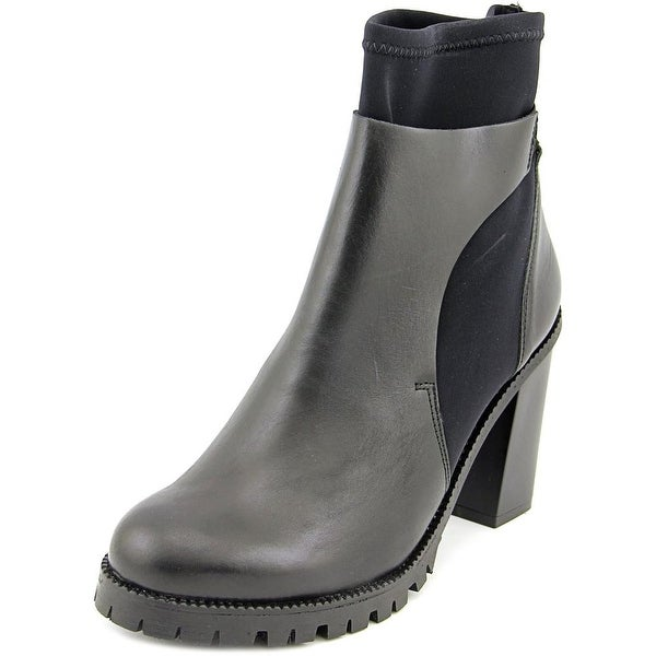 Kenneth Cole NY Punch 2 Soft Round Toe Leather Ankle Boot