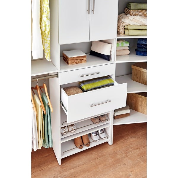 """ClosetMaid SuiteSymphony Modern 25"""" W x 10"""" H Drawer - 25"""" W x 10"""" H - 25"""" W x 10"""" H. Opens flyout."""