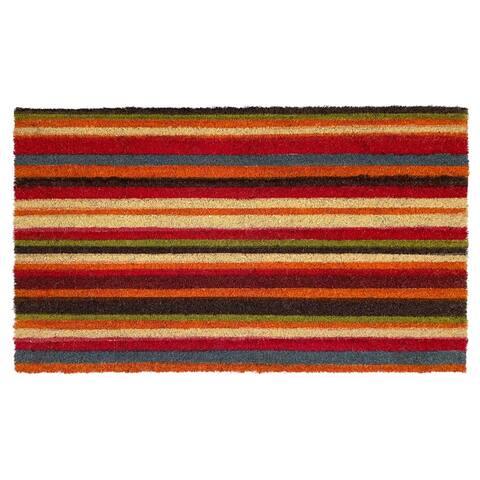 "Palisades Stripe Doormat, 24"" x 36"" - 24 x 36 in"