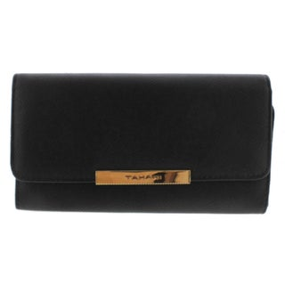 Tahari Womens Bar-Rowing Funds Clutch Wallet Faux Leather Organizational - o/s
