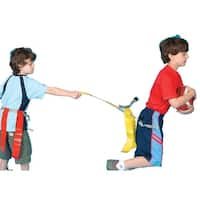 Pull-Buoy Triple Flagz Medium Football Belts, Set of 6, Red