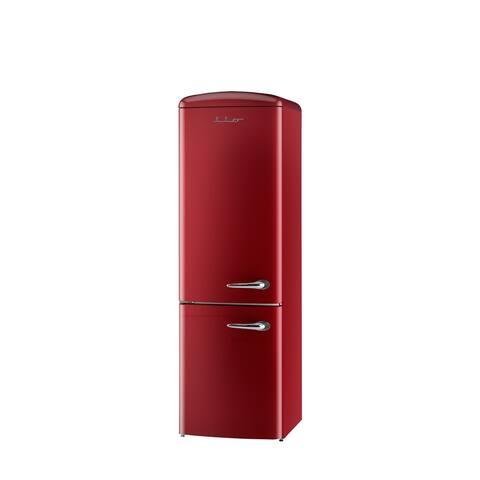 iio 12 Cu. Ft. Retro Refrigerator with Bottom Freezer (Left Hinge)