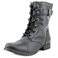American Rag Faylln   Round Toe Synthetic  Mid Calf Boot