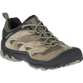 Merrell Men's Chameleon 7 Limit Hiking Shoe Dusty Olive Suede/Mesh