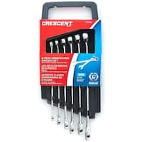 Crescent CCWS1 Metric Combination Wrench Set, 6 Piece
