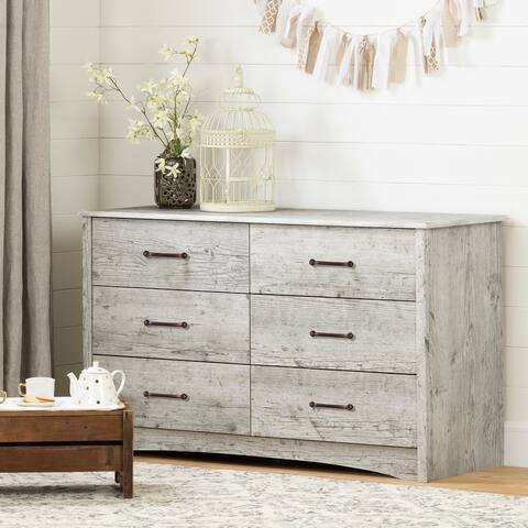 South Shore Helson 6-Drawer Double Dresser