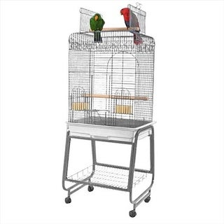 A&E Cage 702 Platinum Play Top Cage With Removable Stand