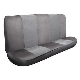 Pilot Automotive SC-444G Grey Micro Tweed Seat Cover (Pack of 2)