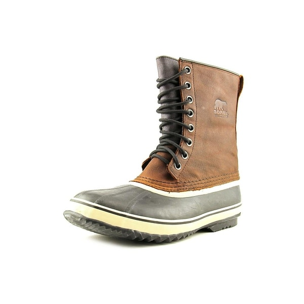 Sorel 1964 Premium T Men Round Toe Leather Brown Snow Boot