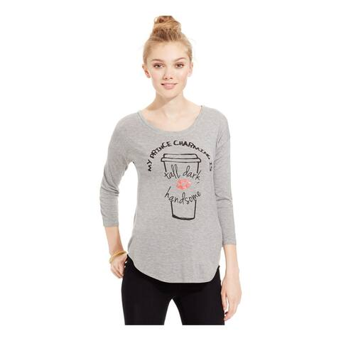 Belle Du Jour Womens Prince Charming Graphic T-Shirt