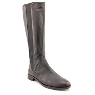 Adrienne Vittadini Women's Priscilla Gored Leather Boot