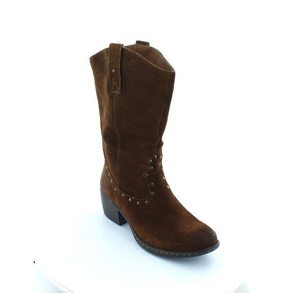 Boc By Born Concepts Rhonda Brown Leather Western Cowboy Boot Women