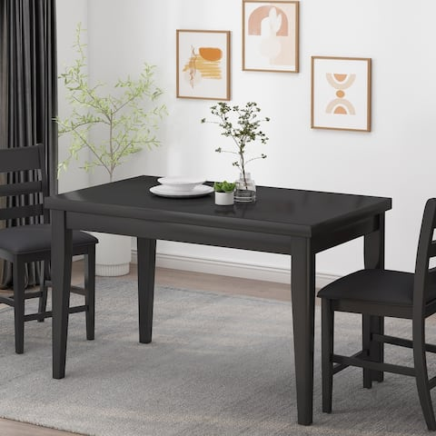 Benner Farmhouse Counter Height Wood Dining Table by Christopher Knight Home