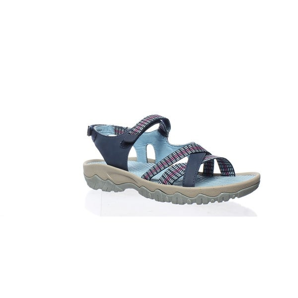 b748e872fb7 Shop Bare Traps Womens Tayna Navy Blue Sport Sandals Size 7.5 - Free ...