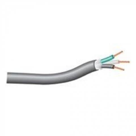 Coleman Cable 23286-04-08 Black Rubber Cable 250'