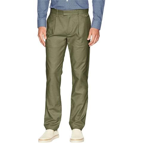 Calvin Klein Mens Sateen Casual Chino Pants