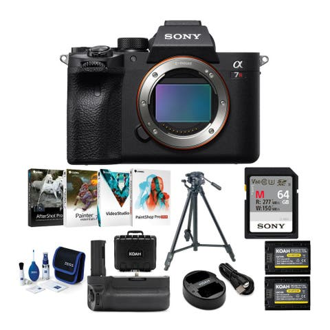 Sony Alpha a7R IV 61MP Mirrorless Camera Body with Accessories Bundle