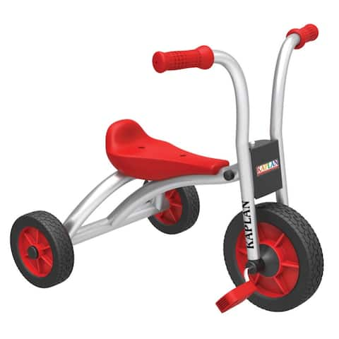 Kaplan Early Learning Toddler Pedal Trike - Red/Silver