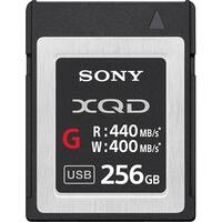 Sony XQD G Series 256GB 440 Read Speed Memory Card