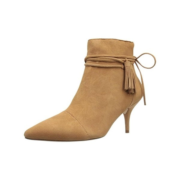 Loeffler Randall Womens Ange Ankle Boots Suede Pointed Toe - 9.5 medium (b,m)