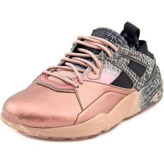 Puma BOG Sock RG Women Round Toe Synthetic Gold Sneakers