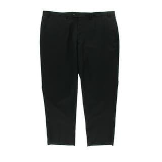 Greg Norman for Tasso Elba Mens Wool Flat Front Dress Pants