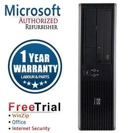 Refurbished HP Compaq DC5850 Small Form Factor AMD Athlon x2 4450B 2.3G 2G DDR2 80G DVD WIN7 Home Premium 32 1 Year Warranty