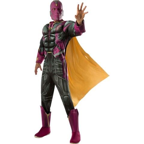Mens Avengers Deluxe Vision Halloween Costume