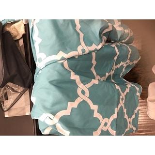 Madison Park Concord Aqua 6-piece Reversible Duvet Cover Set