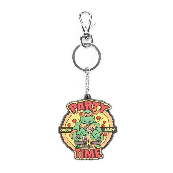 Teenage Mutant Ninja Turtles Party Time Keychain - Multi