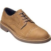 Cole Haan Men's Carver Cap Oxford II Bourbon Leather
