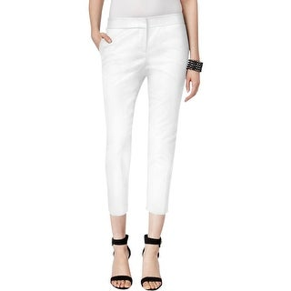 Vince Camuto Womens Capri Pants Twill Cropped