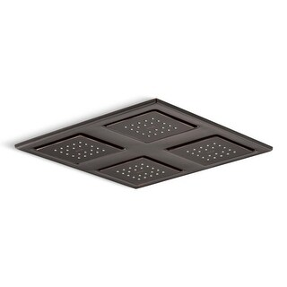 Kohler K-98740 WaterTile 2.4 GPM Ceiling Mount Rainhead with Four 22-Nozzle Sprayheads