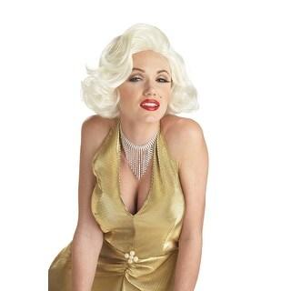 Marilyn Monroe Classic Wig - White