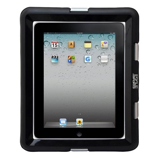Universal Waterproof iPad Marine Grade Case with Headphone Jack - Compatible with Other Tablet PCs and eReaders (Black)