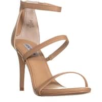Steve Madden Feelya Ankle Strap Sandals, Natural - 10 us