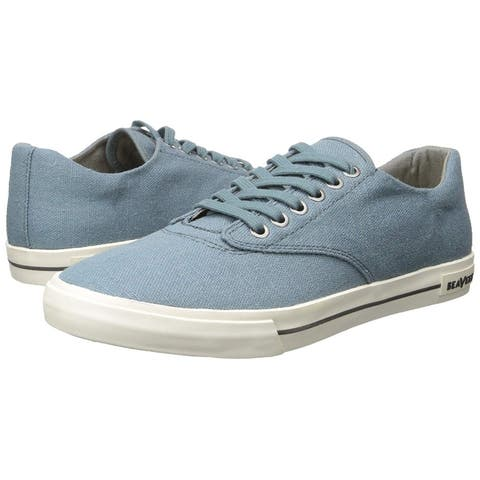 SeaVees Men's Hermosa Plimsoll Standard Fashion Sneaker - Indian Teal - 8